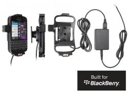 Support voiture  Brodit BlackBerry Q10  installation fixe - Avec rotule, connectique Molex. Chargeur 2A. Réf 513489