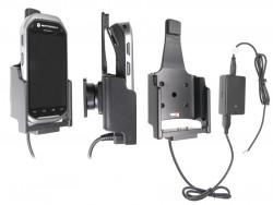 Support voiture  Brodit Motorola MC40  installation fixe - Avec rotule, connectique Molex. Chargeur 2A. Seulement pour appareil avec lecteur de carte de crédit. Réf 513497