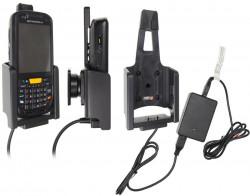 Support voiture  Brodit Motorola MC45  installation fixe - Avec rotule, connectique Molex. Chargeur 2A. Réf 513498
