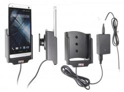 Support voiture  Brodit HTC One  installation fixe - Avec rotule, connectique Molex. Chargeur 2A. Réf 513524