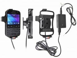 Support voiture  Brodit BlackBerry 9720  installation fixe - Avec rotule, connectique Molex. Chargeur 2A. Réf 513551