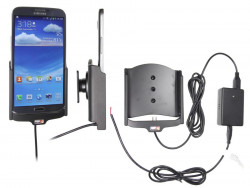 Support voiture  Brodit Samsung Galaxy Mega 6.3  installation fixe - Avec rotule, connectique Molex. Chargeur 2A. Réf 513556