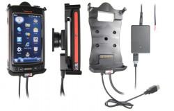 Support voiture  Brodit Honeywell Dolphin 70e Black  installation fixe - Avec rotule, connectique Molex. Chargeur 2A. Avec l'USB Host. Réf 513559