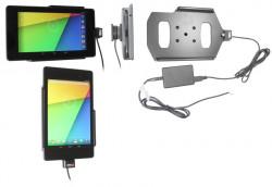 Support voiture  Brodit Asus Google Nexus 7 (2013)  installation fixe - Avec rotule, connectique Molex. Réf 513560