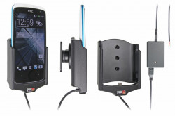 Support voiture  Brodit HTC Desire 500  installation fixe - Avec rotule, connectique Molex. Réf 513563