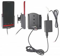 Support voiture  Brodit Motorola Droid Ultra  installation fixe - Avec rotule, connectique Molex. Réf 513570