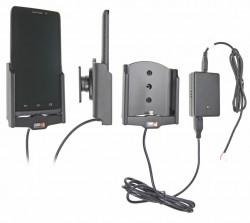 Support voiture  Brodit Motorola Droid Maxx  installation fixe - Avec rotule, connectique Molex. Réf 513581