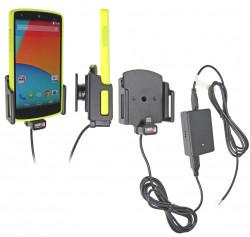 Support voiture  Brodit LG Nexus 5  installation fixe - Avec rotule. Support réglable, convient dispositifs Nexus avec 5 étui d'origine. Réf 513590