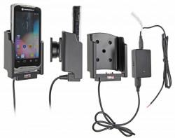 Support voiture  Brodit Motorola TC55  installation fixe - Avec rotule, connectique Molex. Chargeur 2A. Pour les deux batterie mince et étendue. Réf 513601