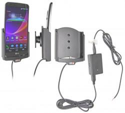 Support voiture  Brodit LG G Flex  installation fixe - Avec rotule, connectique Molex. Chargeur 2A. Réf 513604