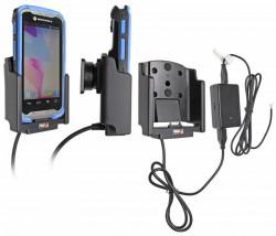 Support voiture  Brodit Motorola TC55  installation fixe - Avec rotule, connectique Molex. Chargeur 2A. Pour les deux batterie mince et étendue. Pour appareil avec TC55 Boot. Réf 513605
