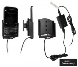 Support voiture  Brodit BlackBerry Classic  installation fixe - Avec rotule, connectique Molex. Chargeur 2A. Réf 513656