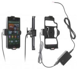 Support voiture  Brodit Sony Xperia Z3  installation fixe - Avec rotule, connectique Molex. Chargeur 2A. Réf 513673