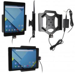 Support voiture  Brodit HTC Nexus 9  installation fixe - Avec rotule, connectique Molex. Réf 513695