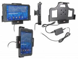 Support voiture  Brodit Samsung Galaxy Tab Active 8.0 SM-T365  installation fixe - Convient appareils avec étui d'origine. Avec rotule. Réf 513697