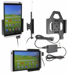 Support voiture  Brodit Huawei MediaPad M1 8.0  installation fixe - Avec rotule, connectique Molex. Réf 513700