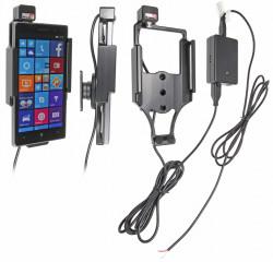 Support voiture  Brodit Nokia Lumia 830  installation fixe - Avec rotule, connectique Molex. Chargeur 2A. Réf 513702