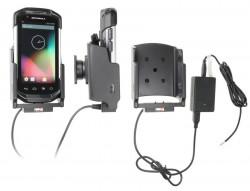 Support voiture  Brodit Motorola TC70  installation fixe - Avec rotule, connectique Molex. Chargeur 2A. Réf 513707