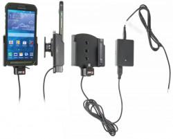 Support voiture  Brodit Samsung Galaxy S5 Active  installation fixe - Avec système de connecteur Molex. Chargeur 2A. Avec rotule. Réf 513711