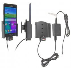 Support voiture  Brodit Samsung Galaxy A5  installation fixe - Avec système de connecteur Molex. Chargeur 2A. Avec rotule. Réf 513713