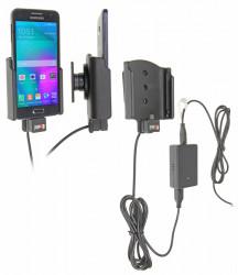Support voiture  Brodit Samsung Galaxy A3  installation fixe - Avec système de connecteur Molex. Chargeur 2A. Avec rotule. Réf 513715
