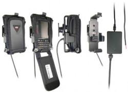Support voiture  Brodit Motorola ES400  installation fixe - Avec rotule, connectique Molex. Chargeur 2A. Pour Mobilis article Cas n ° 4104 / SYM / ES400 / CR. Réf 523208