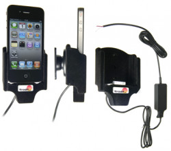 Support voiture  Brodit Apple iPhone 4  installation fixe - Avec rotule. Surface &quot