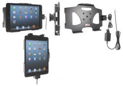 Support voiture  Brodit Apple iPad Mini  installation fixe - Avec rotule. Chargeur approuvé par Apple. Réf 527521