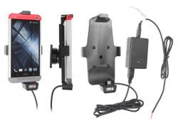 Support voiture  Brodit HTC One  installation fixe - Avec rotule, connectique Molex. Chargeur 2A. Convient appareils avec étui. Réf 527525
