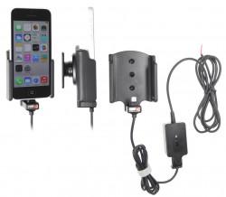 Support voiture  Brodit Apple iPhone 5C  installation fixe - Avec rotule. Chargeur approuvé par Apple. Réf 527562