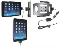 Support voiture  Brodit Apple iPad Mini 3  installation fixe - Avec rotule. Chargeur approuvé par Apple. Réf 527584