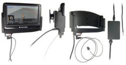 Support voiture  Brodit Navigon 40 Easy  installation fixe - Avec rotule. Grâce à la connectivité TMC, antenne TMC inclus. 12/24 Volt. Réf 529194