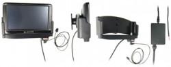 Support voiture  Brodit Navigon 70 Plus  installation fixe - Avec rotule. Grâce à la connectivité TMC, antenne TMC inclus. 12/24 Volt. Réf 529195
