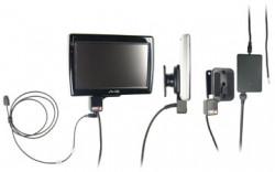 Support voiture  Brodit Mio Spirit 575  installation fixe - Avec rotule. Grâce à la connectivité TMC, antenne TMC inclus. 12/24 Volt. Réf 529202
