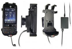 Support voiture  Brodit Motorola ES400  installation fixe - Avec rotule, connectique Molex. Chargeur 2A. Pour appareil avec batterie standard et étendu. Réf 531208