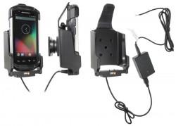 Support voiture  Brodit Motorola TC70  installation fixe - Avec rotule, connectique Molex. Chargeur 2A. Porte à 3 points pour un maintien plus sûr. Réf 531707