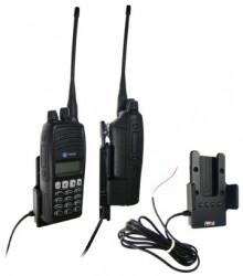 Support voiture  Brodit Tait TP8100  installation fixe - Pour une installation fixe. Conception mince avec chargeur intégré dans le support. Pour une utilisation avec des batteries Li-ion ou Li-Poly. Réf 532097