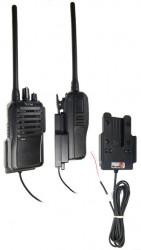 Support voiture  Brodit ICOM IC-F3002  installation fixe - Conception mince avec chargeur intégré dans le support. Pour une utilisation avec des batteries Li-ion ou Li-Poly. Réf 532145