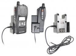 Support voiture  Brodit Commaster 70-serie  installation fixe - Conception mince avec chargeur intégré dans le support. Pour une utilisation avec des batteries Li-ion ou Li-Poly. Réf 532364