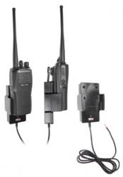 Support voiture  Brodit Motorola Radius CP200  installation fixe - Conception mince avec chargeur intégré dans le support. Pour une utilisation avec des batteries Li-ion ou Li-Poly. Réf 532367