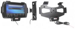 Support voiture  Brodit Motorola ET1  installation fixe - Avec rotule. Conception mince avec chargeur intégré dans le support. Réf 532370