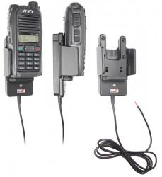 Support voiture  Brodit HYT TC-500 Series  installation fixe - Conception mince avec chargeur intégré dans le support. Pour une utilisation avec des batteries Li-ion ou Li-Poly. Réf 532388