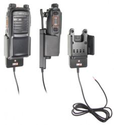 Support voiture  Brodit Hytera PD702  installation fixe - Conception mince avec chargeur intégré dans le support. Réf 532390