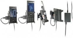 Support voiture  Brodit Sony Ericsson C905i  installation fixe - Avec rotule, connectique Molex. Chargeur 2A. Réf 971270