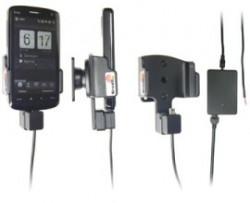 Support voiture  Brodit HTC Touch HD  installation fixe - Avec rotule, connectique Molex. Chargeur 2A. Réf 971870