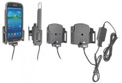 Chargeur 2A. Support réglable. Convient appareils avec et sans étui de dimensions: Larg: 62-77 mm, épaiss.: 12-16 mm. Réf 527622