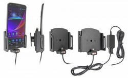 Chargeur 2A. Support réglable. Convient appareils avec et sans étui de dimensions: Larg: 75-89 mm, épaiss.: 12-16 mm. Réf 527628