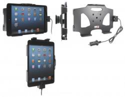 Support voiture  Brodit Apple iPad Mini  avec chargeur allume cigare - Avec rotule. Avec câble USB. Chargeur approuvé par Apple. Réf 521521