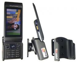 Support voiture  Brodit Sony Ericsson Aino  passif avec rotule - Pour position ouverte. Réf 511079