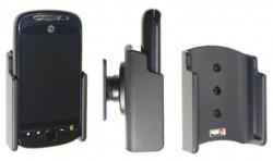 Support voiture  Brodit T-Mobile My Touch 3G Slide  passif avec rotule - Pour un montant position fermée. Réf 511168